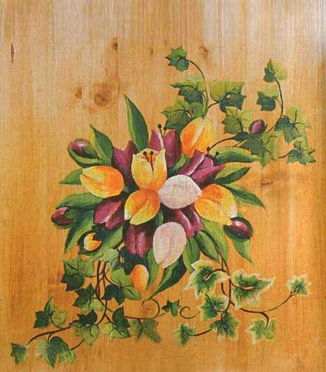 Nos Motifs - Tulipes